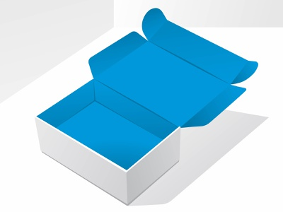 blue box packaging illustration vector mockup blank food container cardboard branding background pack white isolated set illustration template paper design product vector box packaging package