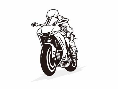 Motosport sportbike silhouette with black color transportation sign helmet motorbike vehicle logo motocross illustration ride biker vector moto speed motor race rider motosport bike motorcycle sport