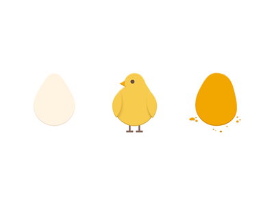 Chicken_3 illustration personal chicks chicken nuggets life cycle