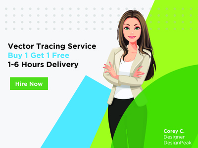vector tracing banner hire us service designer graphicdesign designpeak travel social media banner instagram banner digital illustration digital art banner tracing vector