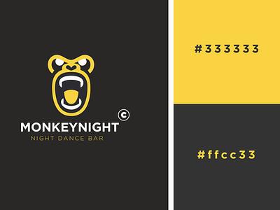 MONKEY LOGO DESIGN flat logo cool design identity clean illustration design vector minimalist logo logodesignchallenge logodesignersclub logodesigner logodesigns