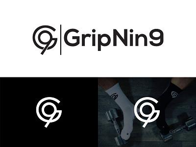 GripNin9 Socks Logo logo design logo rakibul62 footballsocks socksforfootball socksformen jeans swag underwear pants legs feet stancesocks logosocks designsockslogo sockslogodesign sockslogo socks gripnin9logo gripnin9