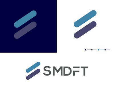 Smdft logo design