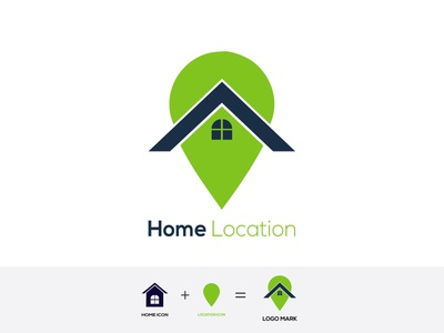 Home Location Logo brand logotype logo design logodesign logo illustration identity icos iconography icon design icon app icon graphic design dribbble homepage design location logo home logo home location home