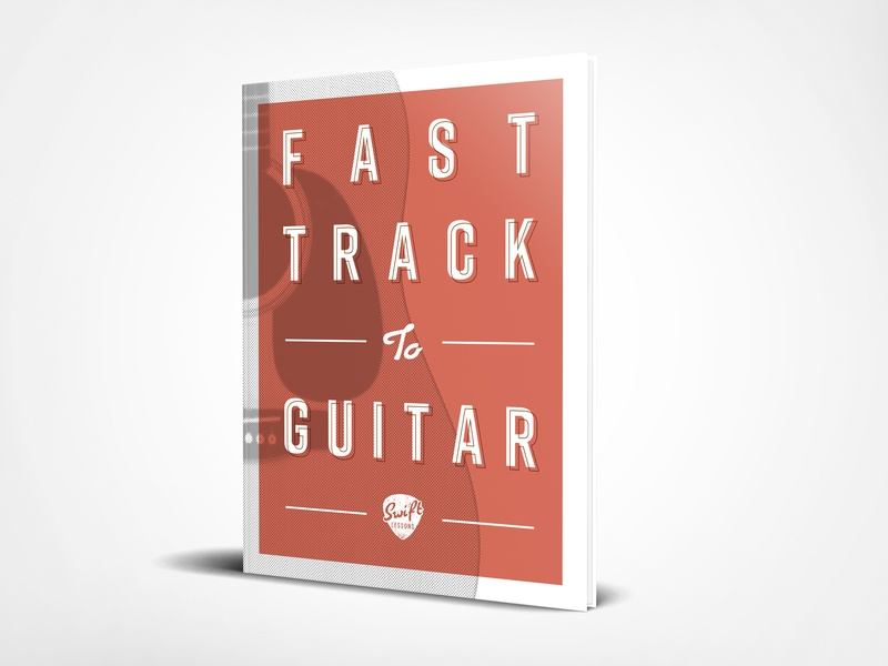 E-book Cover Design ebook cover ebook youtube guitar pick guitar music vector adobe illustration illustrator branding design clean design typography book design book art book cover