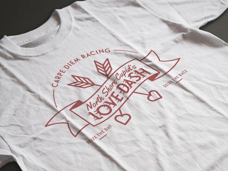 5K T-Shirt Design chicago tshirt graphics tshirt mockup tshirt design banner valentines day runners race 5k adobe vector logo illustration typography graphic design illustrator