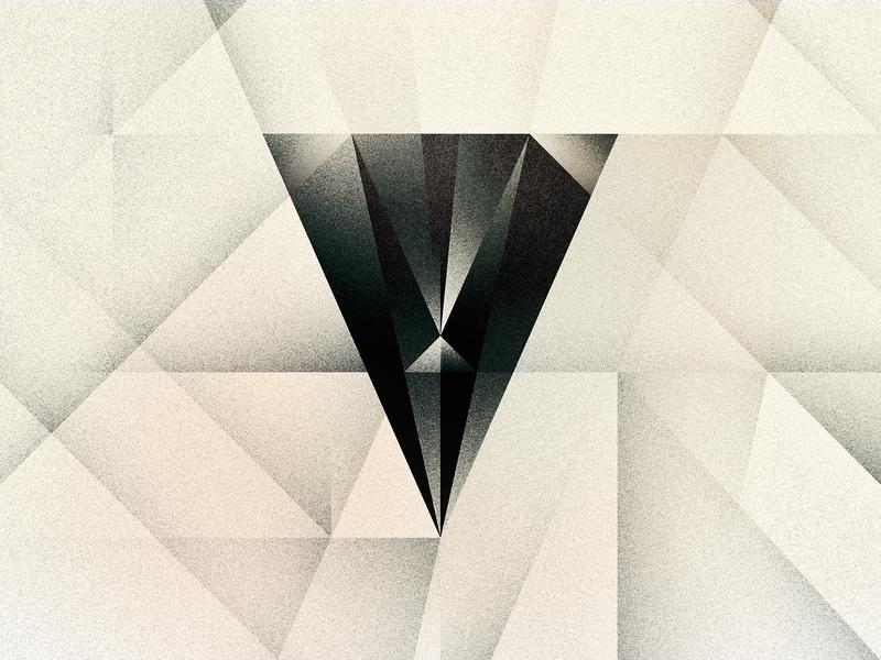 V goodtype v futurist art deco noir texture 36daysoftype drop cap letter illustrator typography lettering type vector illustration