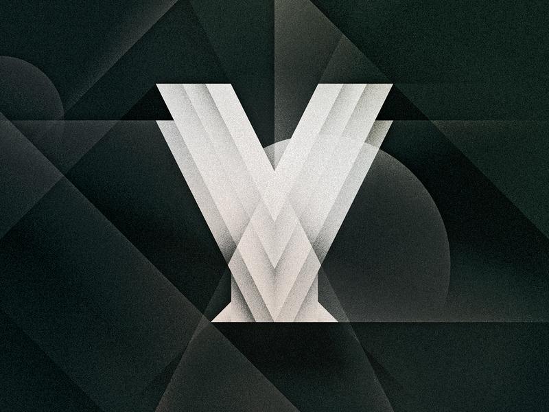 Y goodtype noir art deco y design texture 36daysoftype drop cap letter illustrator typography lettering type vector illustration