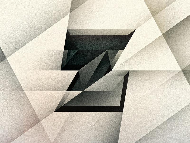Z art deco noir goodtype z texture 36daysoftype drop cap letter illustrator typography lettering type vector illustration