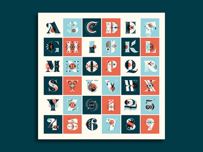 36 Days of Type Poster