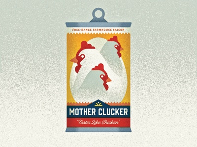 05/31 - Chicken branding vintage saison egg chicken inktober 2018 vectober inktober beer design vector illustration
