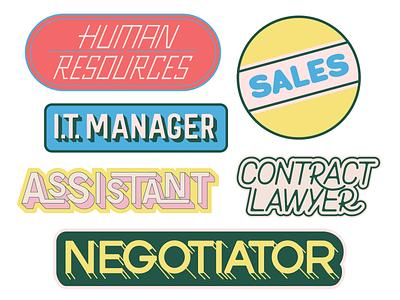 Freelance Stickers freelance illustrator freelance design hand lettering fucking freelancing adobe illustrator cc lettering