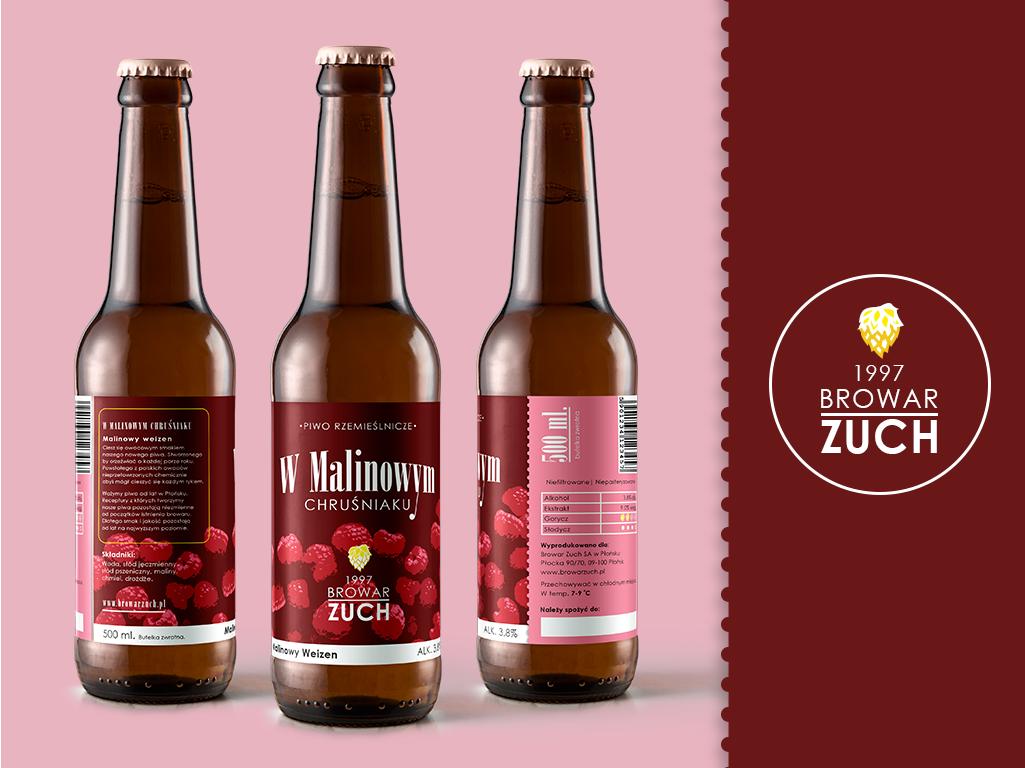 ,,Zuch'' Beer Label Design beer illustration photoshop design beer branding
