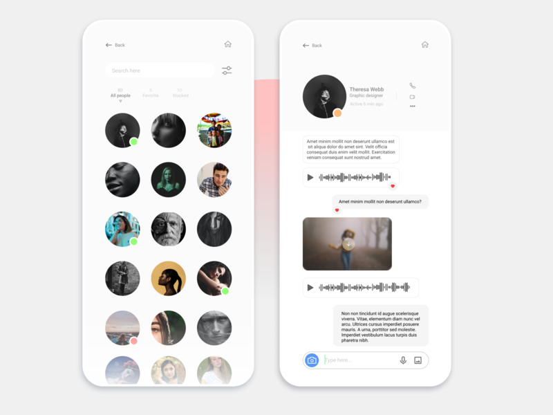 // Direct messaging // daily ui 13 daily 100 challenge daily ui messaging ux dailyui interaction design ui design interaction design visual design uiux uidesign ui