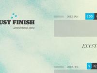 Just Finish
