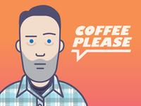 Coffee head