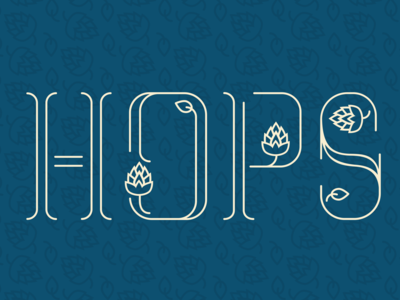 Hops Font