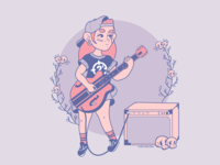 Punk rock girl