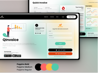 Invoicing SaaS user experience software design saas website illustration dashboard app dashboard ui productdesign saas app saas design uxdesign