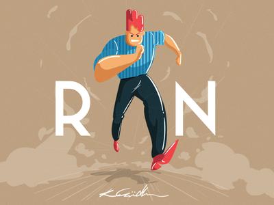 Dribbble Run