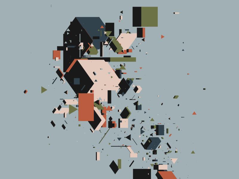 spare parts — 04 geometric generative art design generative code procedural