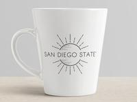San Diego State Mug Design