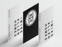 Mike Allen Homes | Business Cards