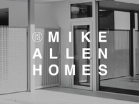 Logo for Mike Allen Homes