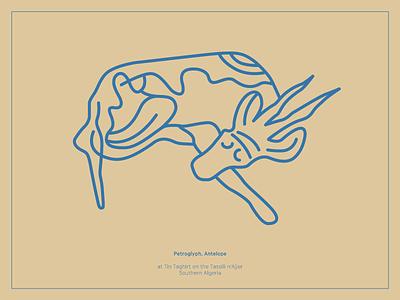 Petroglyph, Antelope