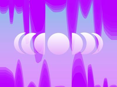 Moon Phase Background