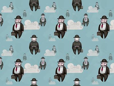 Impression Magritte impression magritte art illustration design