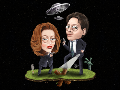 Lil' Scully & Mulder