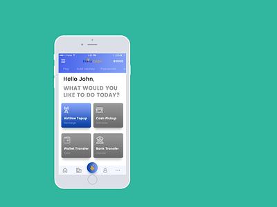 Fama Cash iOS App Design fintech fin tech app design ios ios design