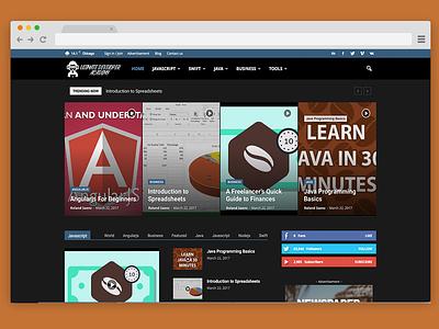 Ultimate Developer Academy Blog Design wordpress blog wordpress design web design website design blog design