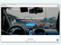 Roadiy Landing Page Design