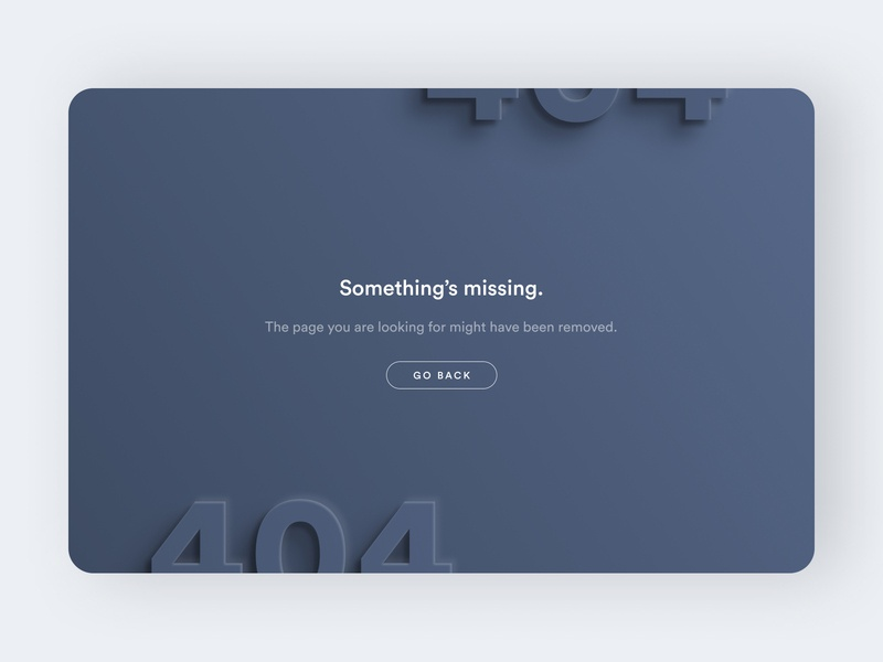 404 Page 404 error 404 page 404 simple landing page clean ux ui figma design figma design dailyui branding