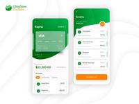Sberbank mobile application // Мобильное приложение Сбербанка