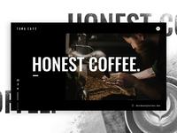 Toma Café Home Page