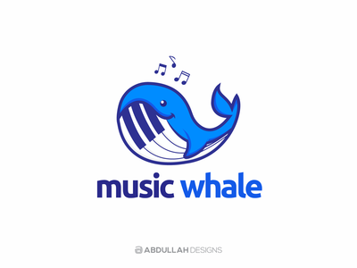 Music Whale - Logo for Sale
