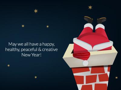 A Christmas Wish christmas wish brohouse postcard santa clous