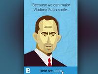 Vladimir Putin - Website Launch Campaign