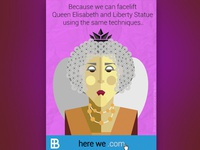 Queen Elisabeth - Website Launch Campaign