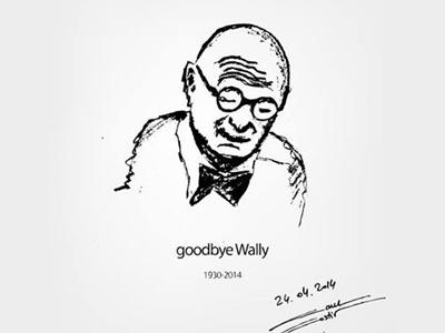 Goodbye Wally Olins wally olins branding tribute brohouse goodbye