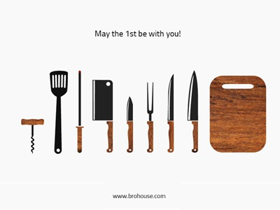 May 1 (Labour Day) may 1 labour day barbecue food knife kitchen stuff brohouse