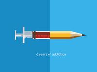 6 Years Of Addiction