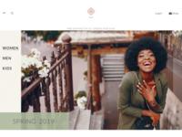 Leaf Landing Page