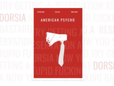 American psycho - Poster