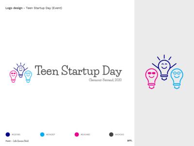 Teen Startup Day - Logo Design