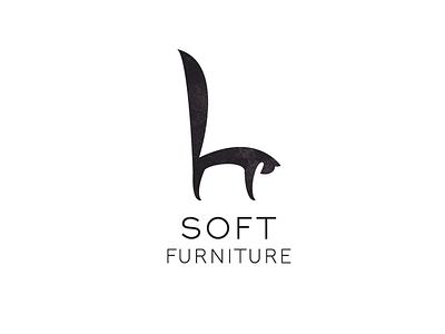 SOFT Furniture art logotype logo furniture cat armchair