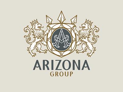Arizona vector heraldic emblem logo coat of arms